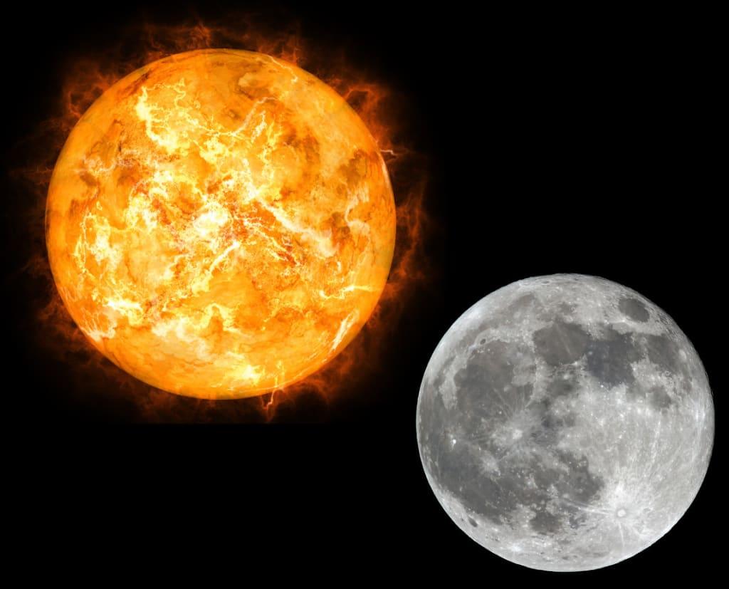 მზე და მთვარე ვერ გაიყვეს